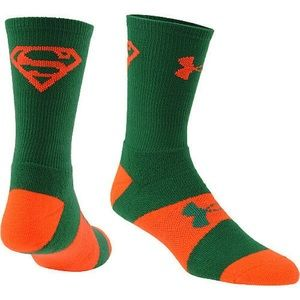 Under Armour Alter Ego Superman Crew Socks Sz M